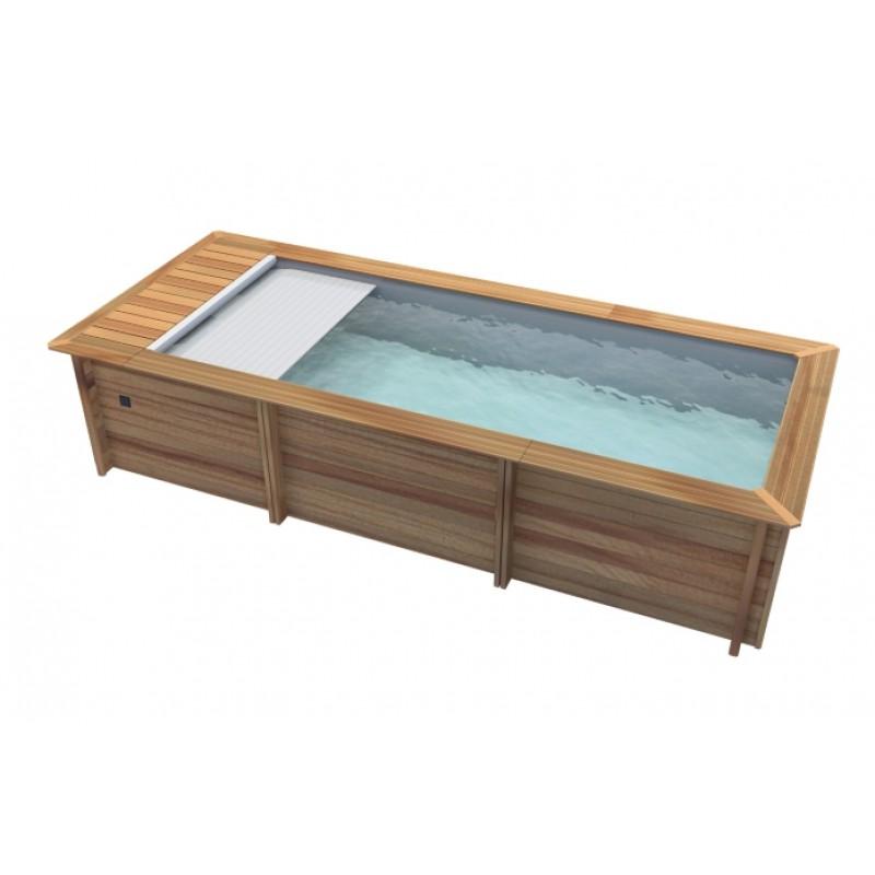 Piscina de madera urbaine outlet piscinas - Piscina madera rectangular ...