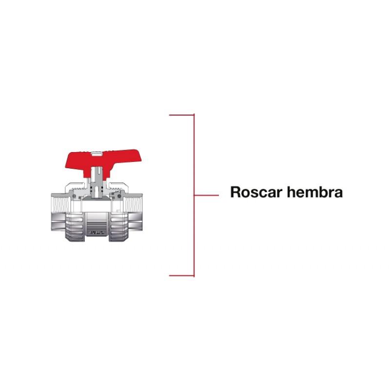 Roscar Válvula de bola STD roscar Cepex