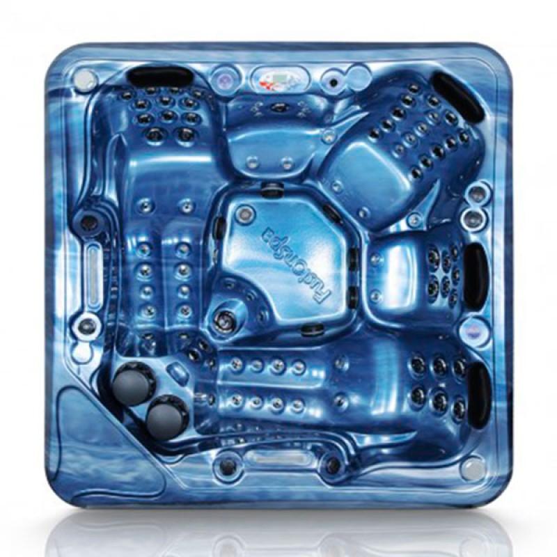 Vista superior Spa Pro 5.2 azul