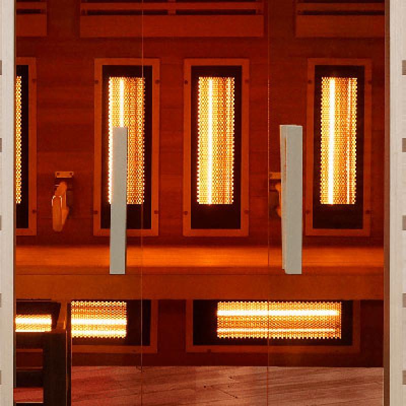 Puertas Sauna de vapor Combi de acceso fácil
