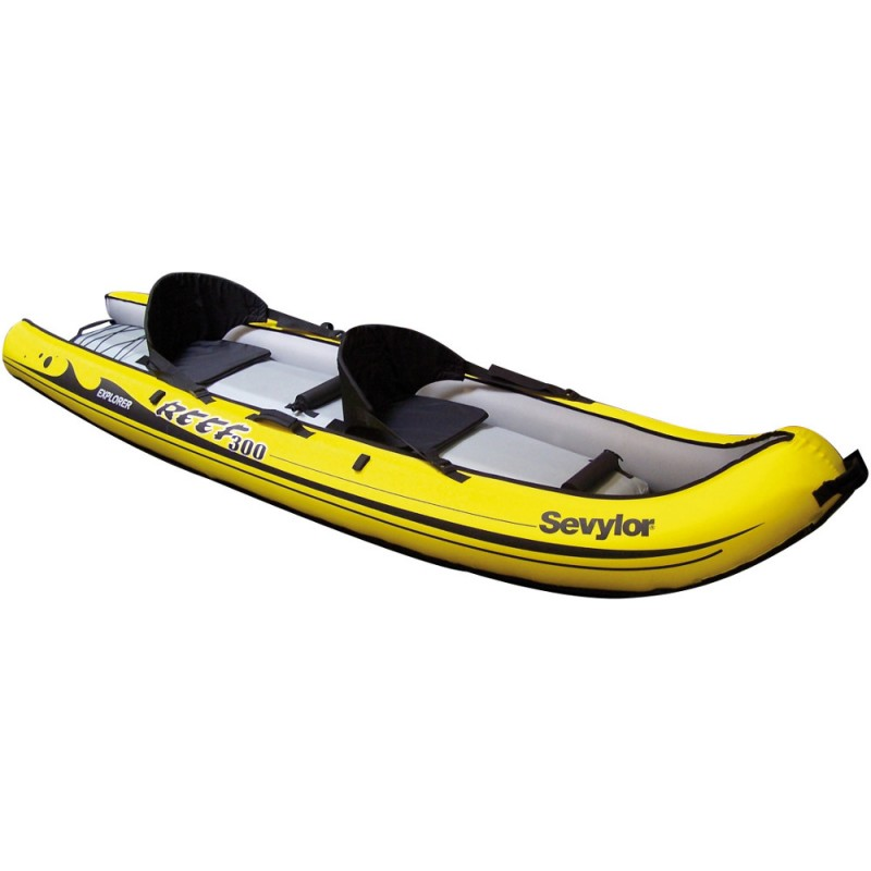 Kayak hinchable reef 300 sevylor outlet piscinas for Piscina canoe