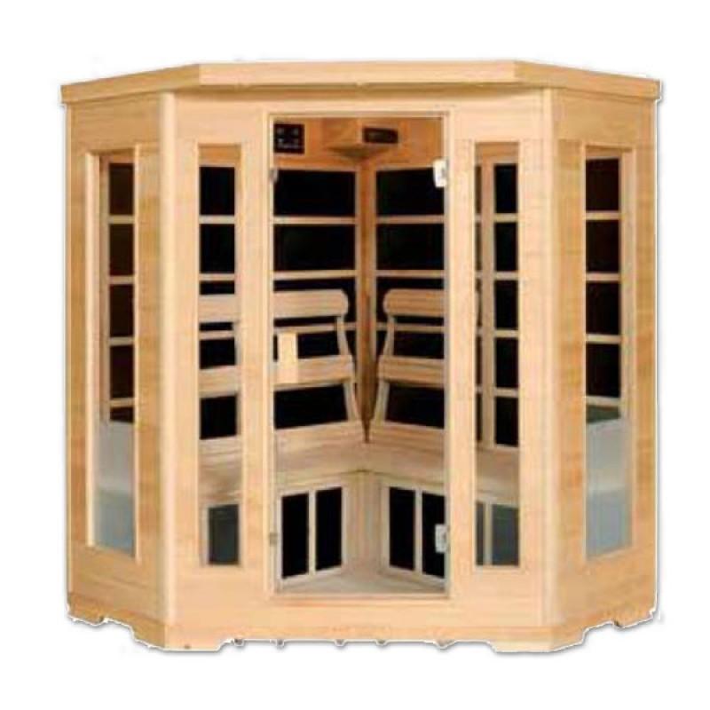 Sauna Infrarrojos Esquinera 3 Plazas