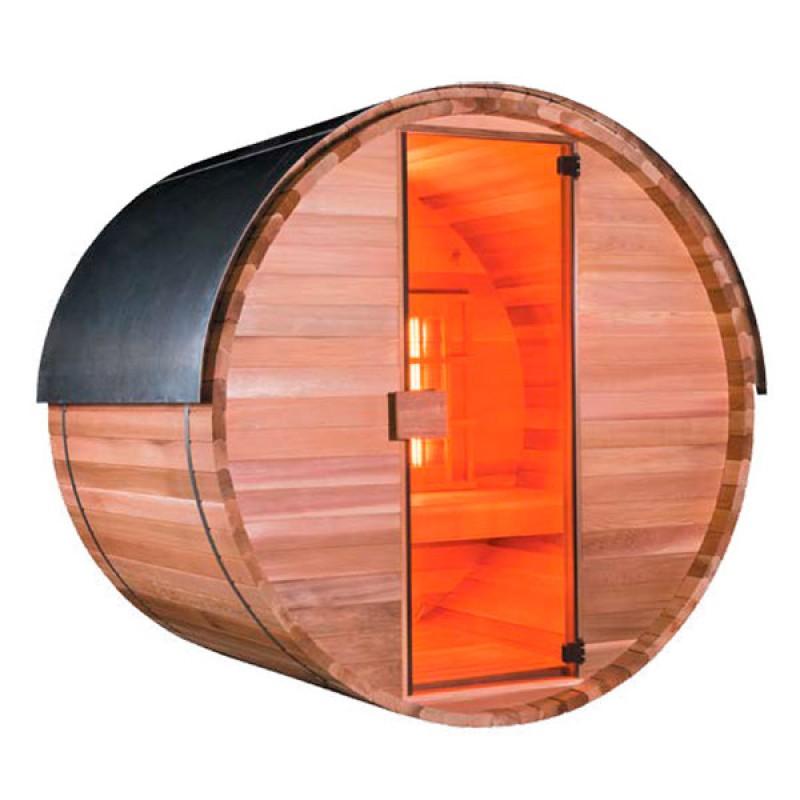 Sauna exterior barril Barrel Ir