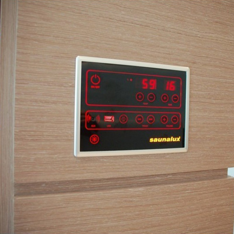 Sauna Infrarrojos Novus - Panel de Control