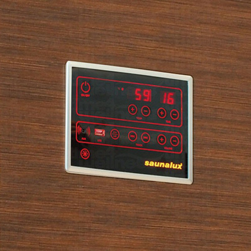 Sauna Infrarrojos Sirius - Pnel de Control