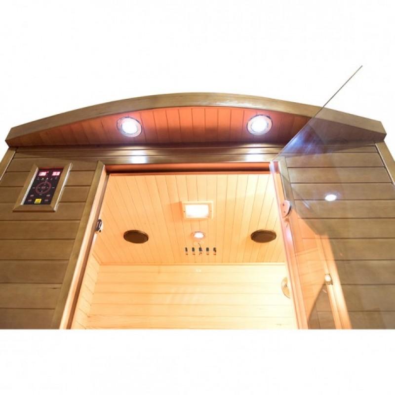 Sauna Spectra 2 plazas visión luces