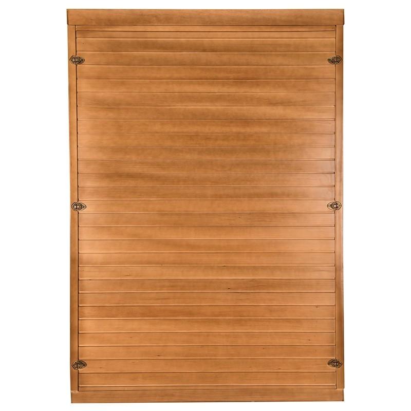 Sauna Spectra 2 plazas visión trasera
