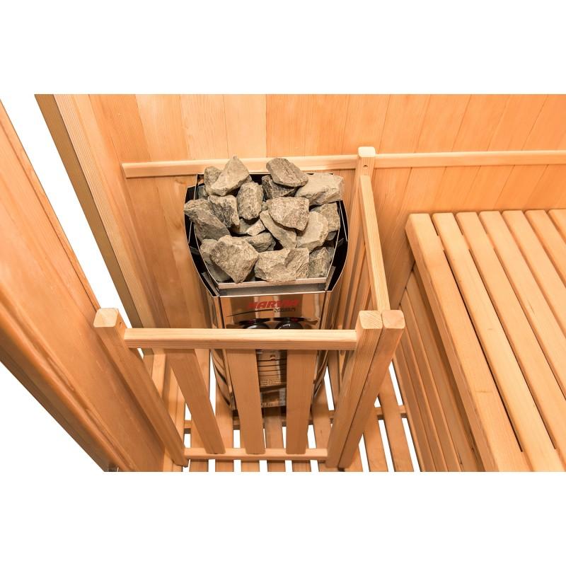 Estufa eléctrica  de la Sauna de Vapor Zen 2 Personas