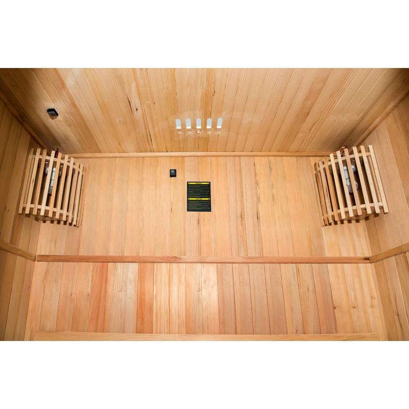 Techo interior de la Sauna de Vapor Zen 2 Personas