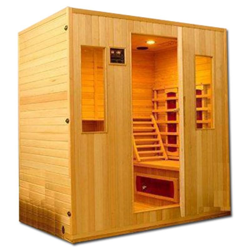 Sauna Infrarrojos Stockholm 4 Plazas