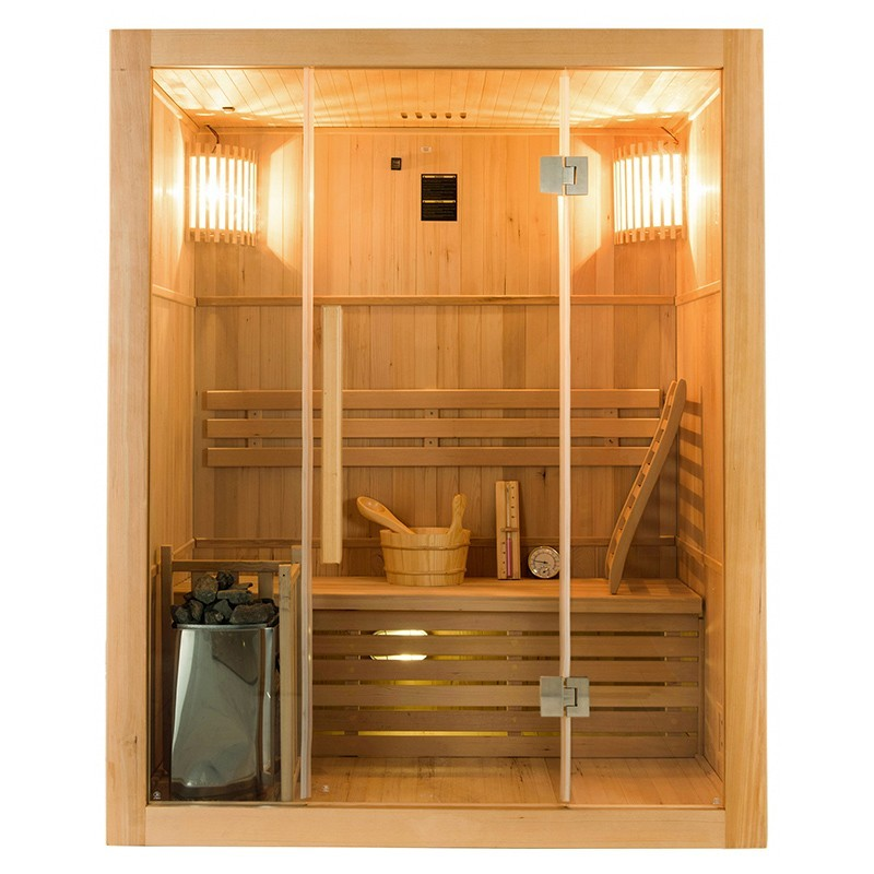 Sense Sauna de vapor para 3 personas Frontal
