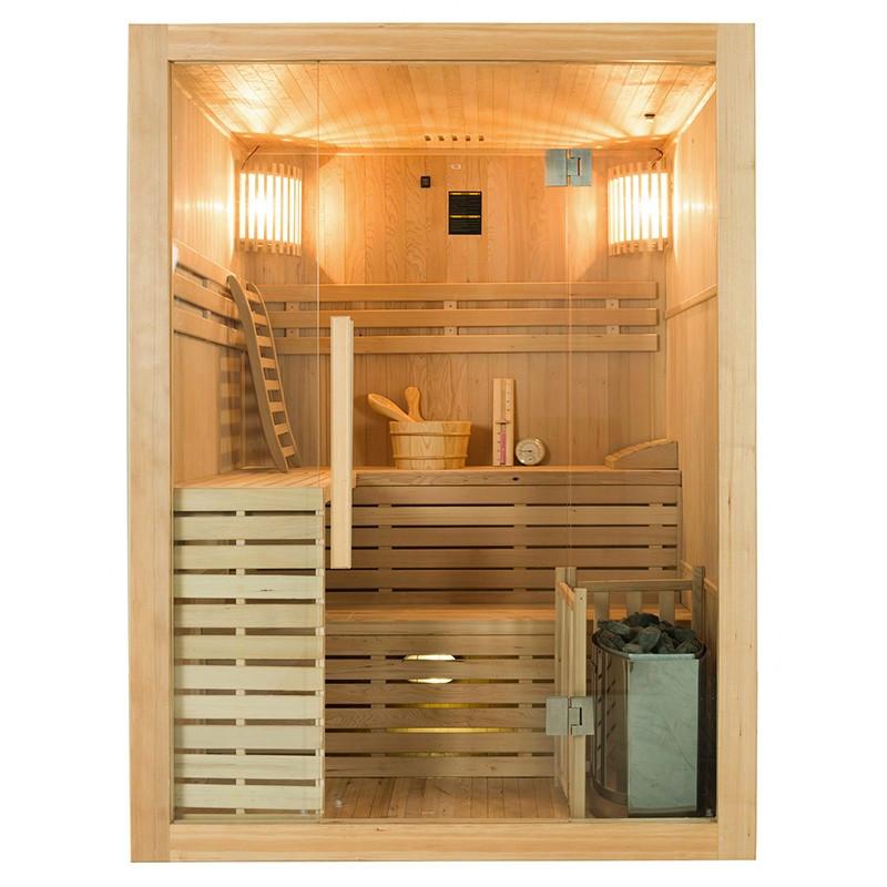Sense Sauna de vapor para 4 plazas Frontal