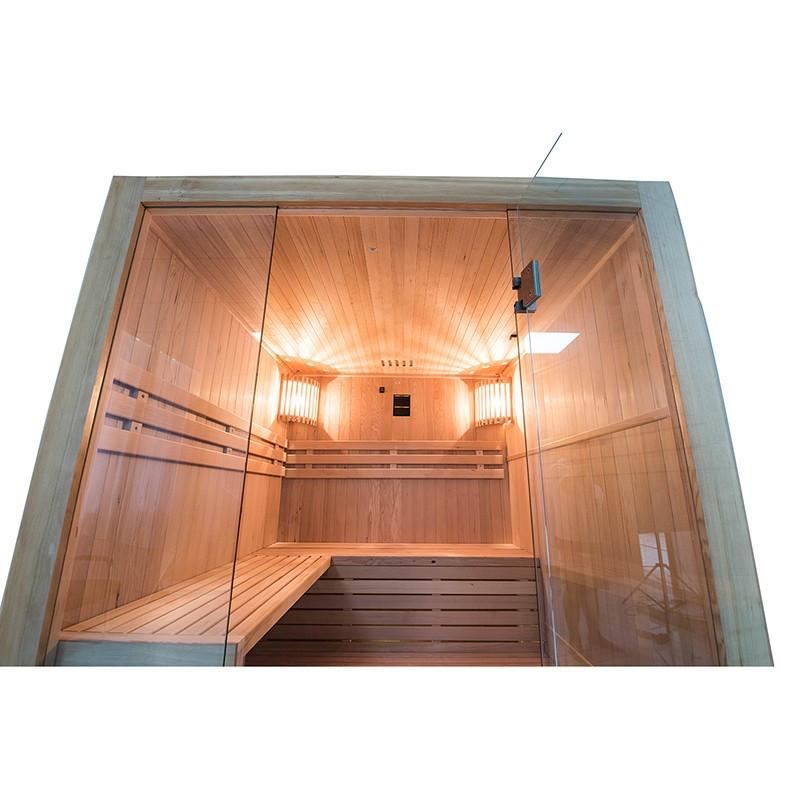 Sense Sauna de vapor para 4 plazas Interior superior