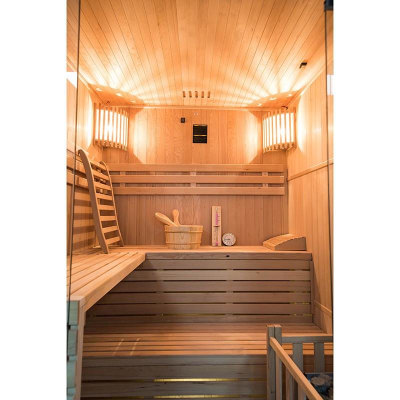 Sense Sauna de vapor para 4 plazas Interior