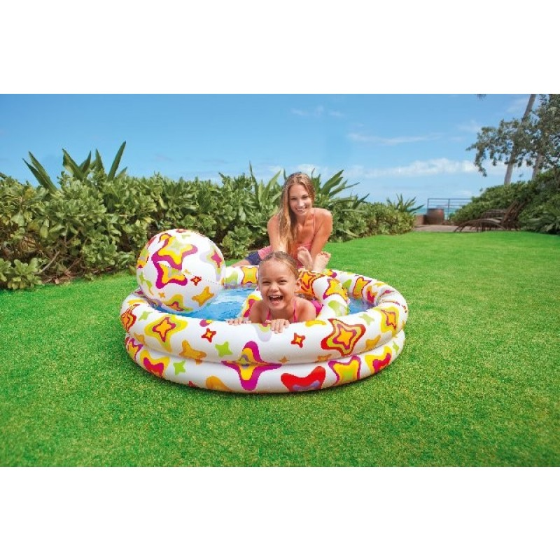 Set Piscina Infantil Intex-2
