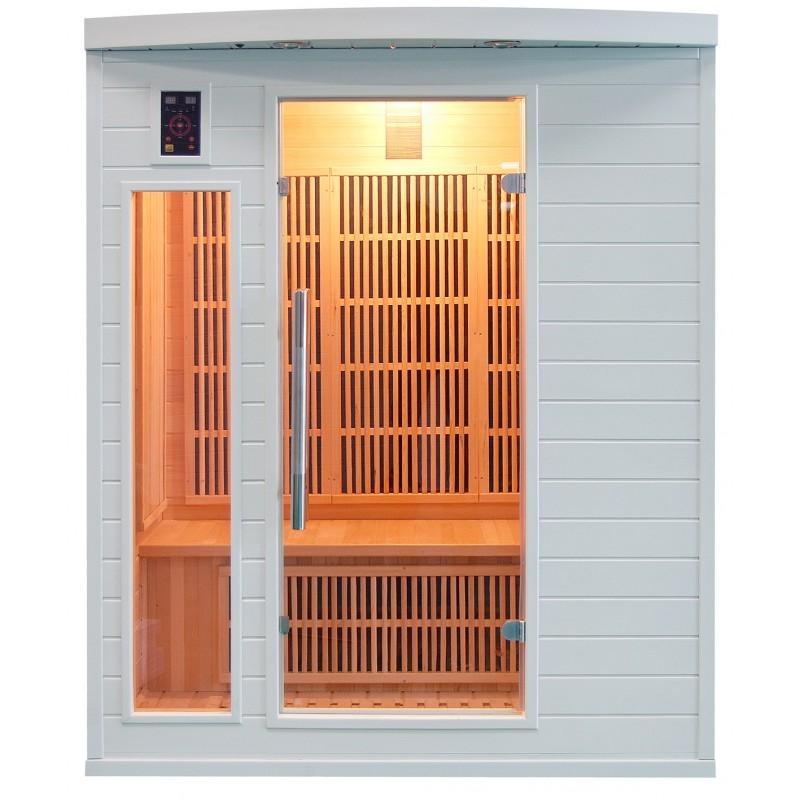 Sauna Soleil Blanc 3 Plazas