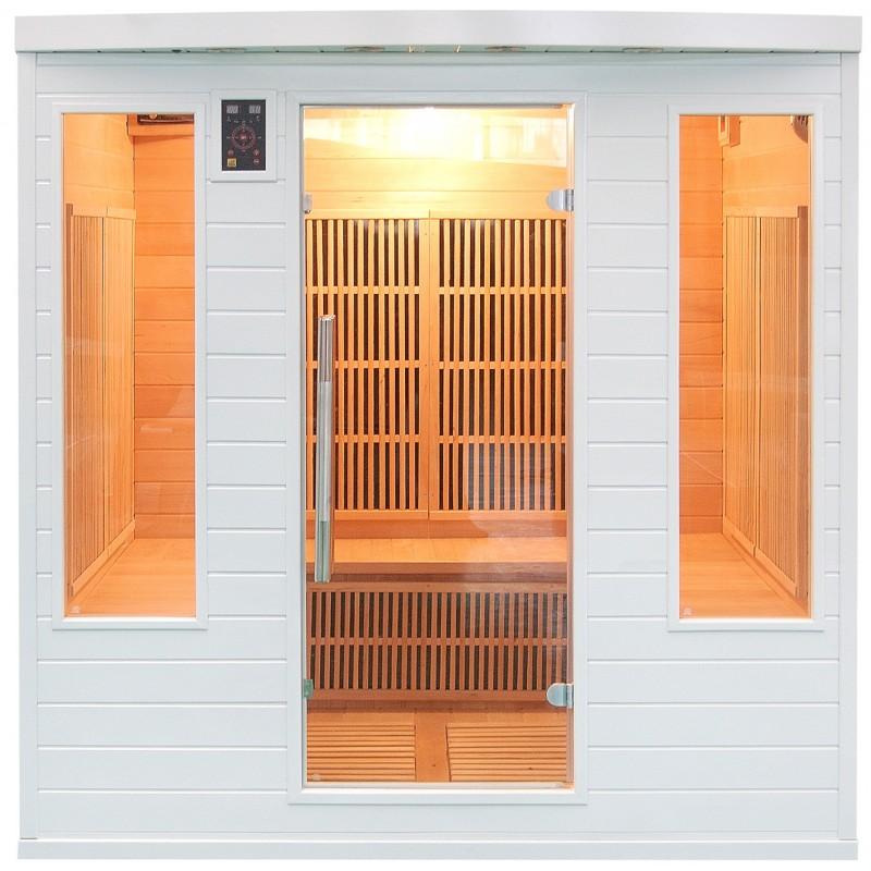 Sauna Soleil Blanc 4/5 Plazas