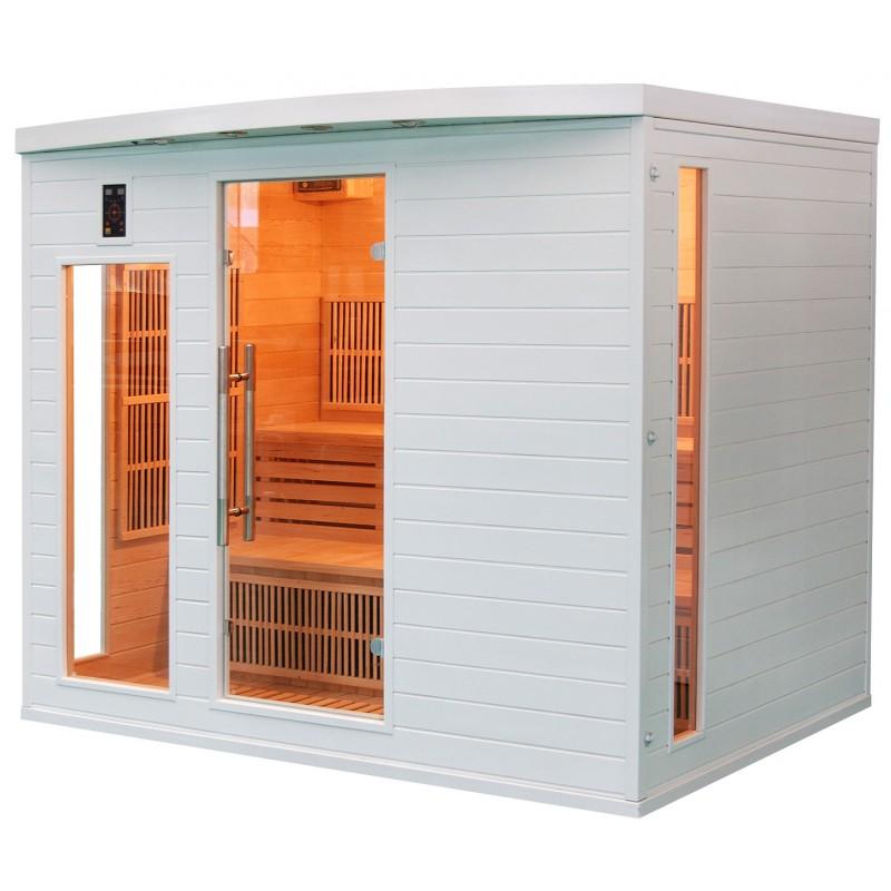 Sauna Soleil Blanc 5 Plazas