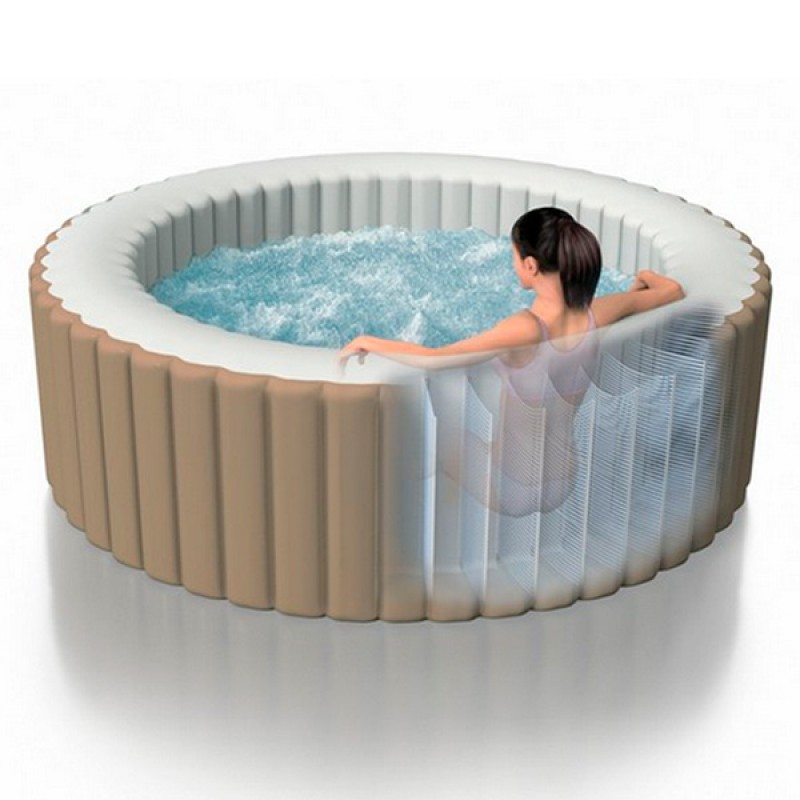 Spa Hinchable INTEX PureSpa - 4 Plazas
