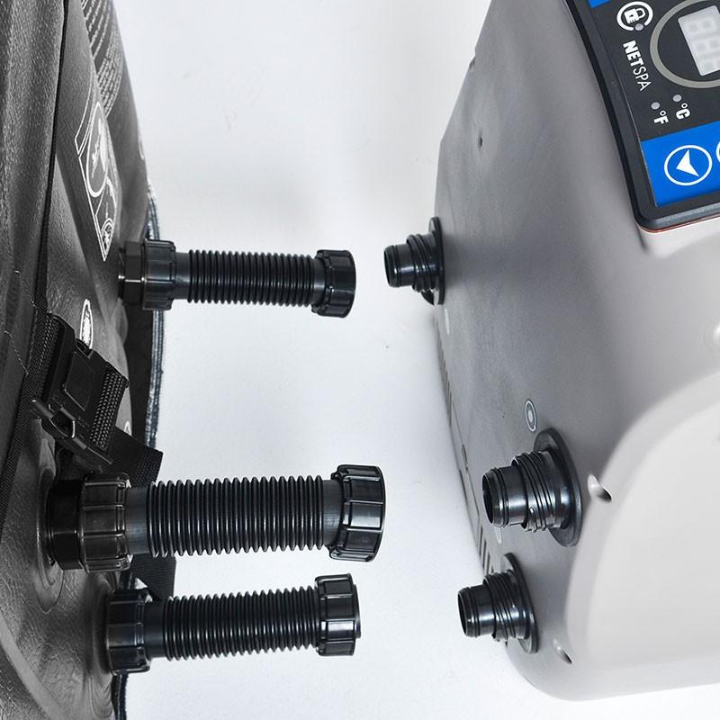 Spa hinchable Boa Netspa motor conectado