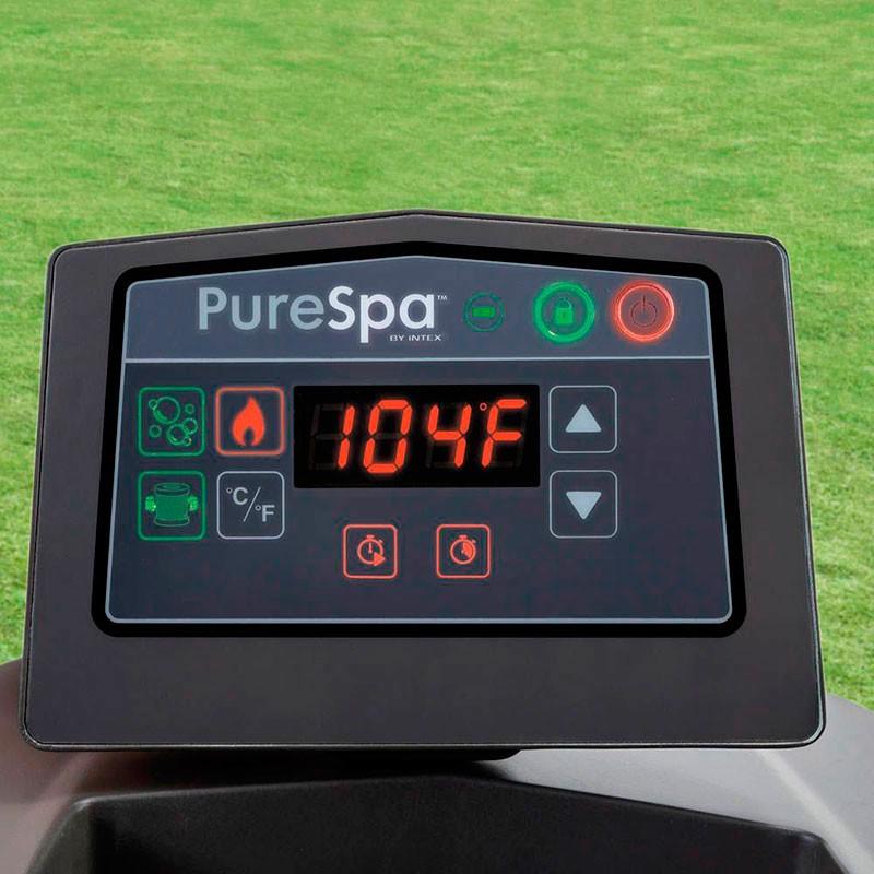 Spa hinchable Purespa Greywood 6 personas control
