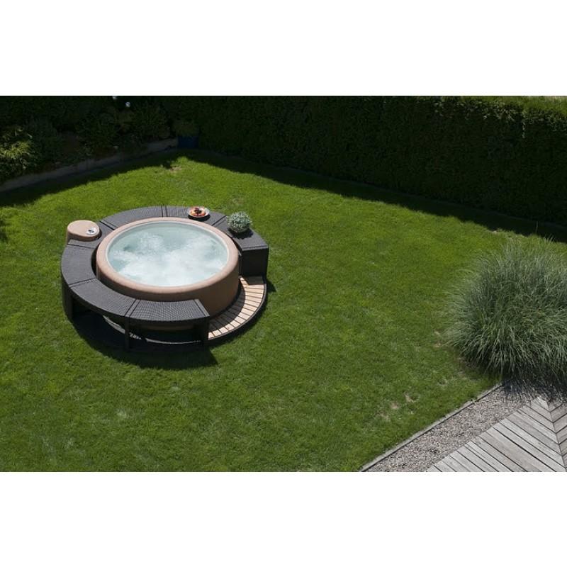 Spa Sportster 140 en jardín