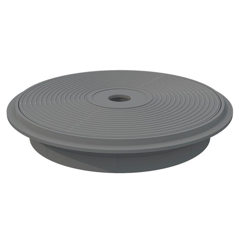tapa y marco skimmer 15 L gris