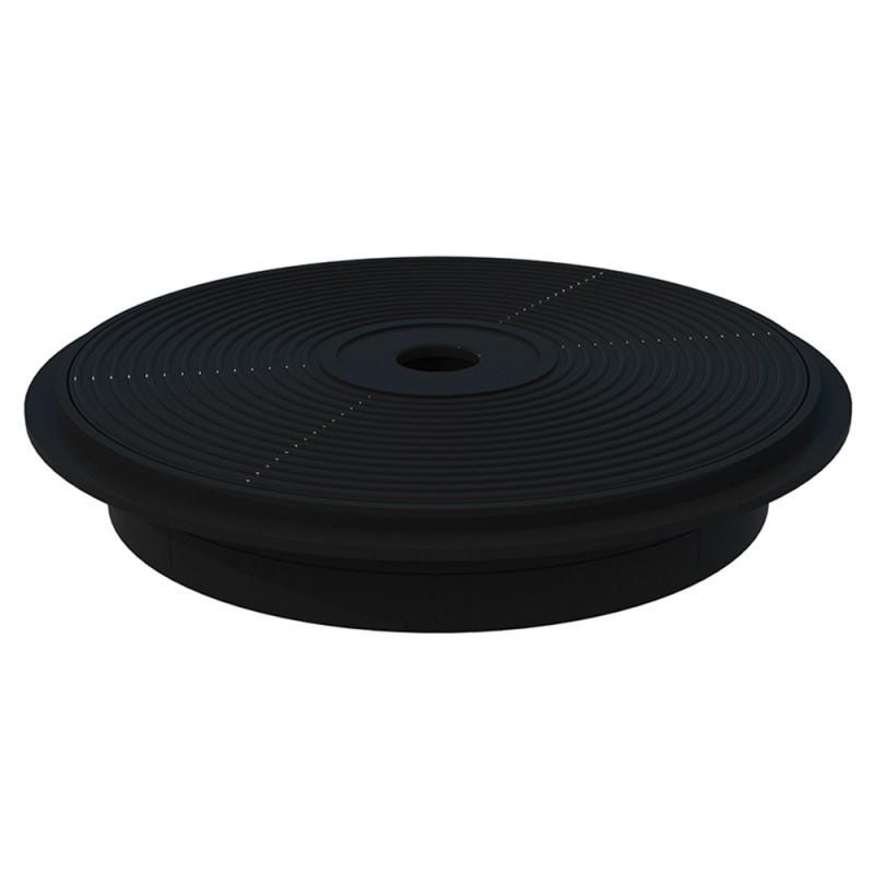 tapa y marco skimmer 15 L negro