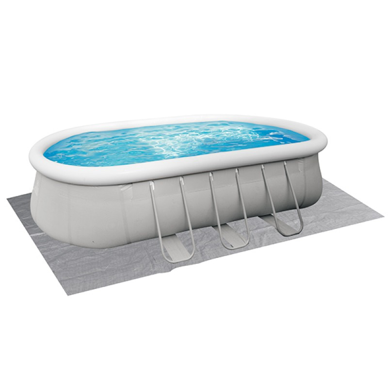 Tapiz Piscina Hinchable Chínook Grey Jilong