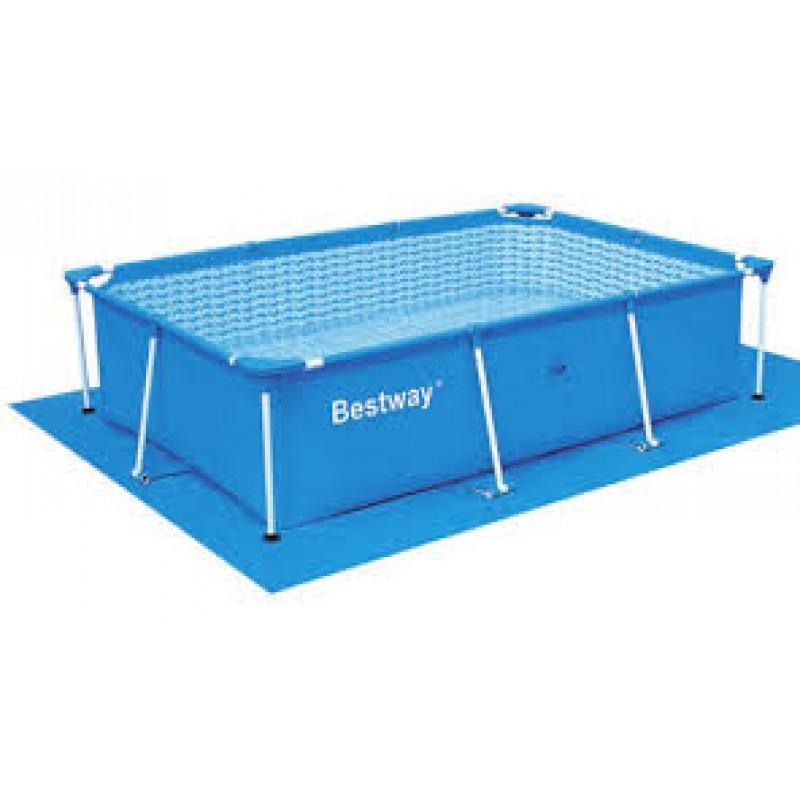 Tapiz suelo bestway 338x239 cm outlet piscinas - Suelo para piscina desmontable ...