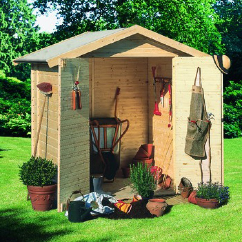 Caseta de jard n tobin outlet piscinas for Caseta para jardin