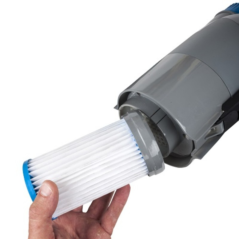 Filtro del limpiafondos eléctrico