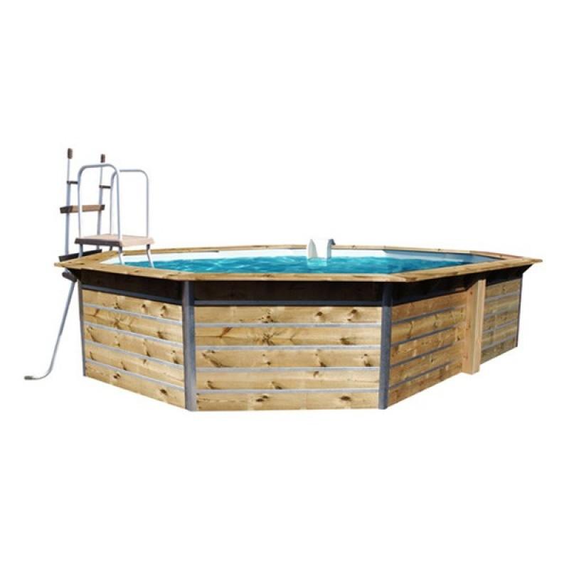 Piscina de madera water clip outlet piscinas - Piscina de madera ...