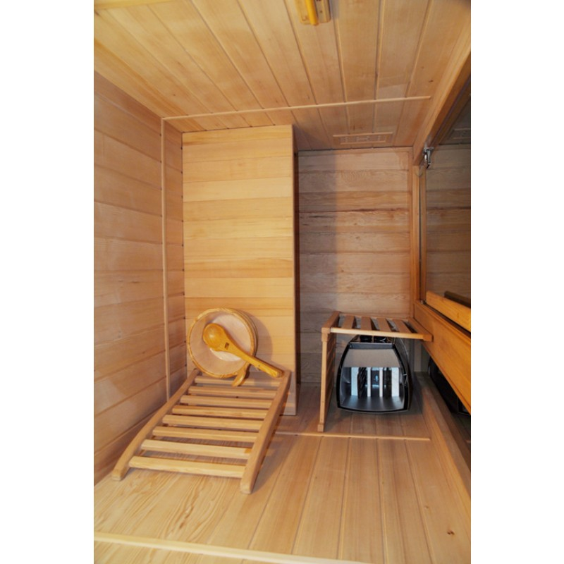 Sauna de Vapor Zen - 3 Personas