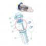 Electrodo Serie Tecno – clorador salino Idegis