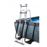 Escalera seguridad Piscina Cocodrile 400 x 200 x 100