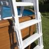 Escalera de seguridad de acero detalles - 4