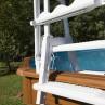 Escalera de seguridad de acero detalles - 2