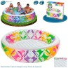 Características de la piscina Hinchable de Colores Intex