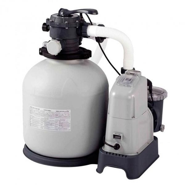 Combo filtro arena y clorador Intex 56800 L