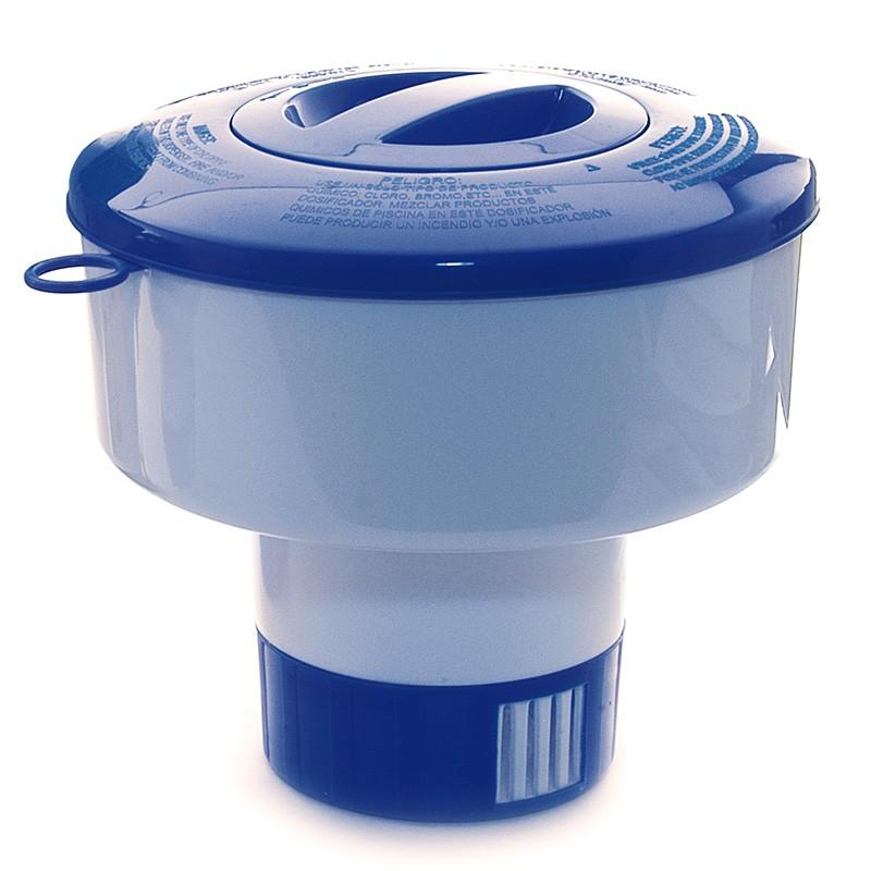 Dosificador cloro flotante oval Basic
