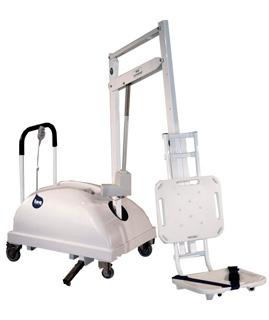 Elevador para Piscina portátil discapacitados