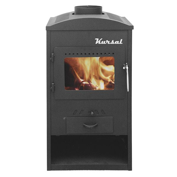 Estufa de leña Kursal 6 kW - Kt0611n