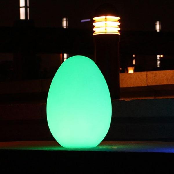 Huevo luminoso Led 29 x 32 cm