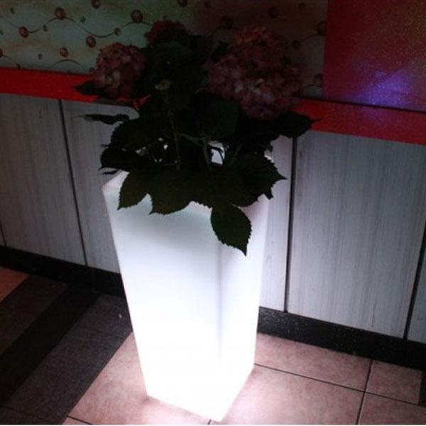 Jarrón Luminoso Lámpara Led 74 x 32 cm