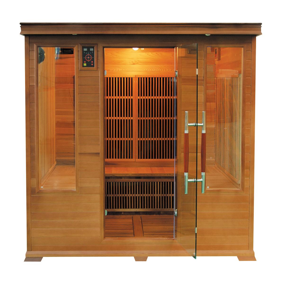 Sauna Infrarrojos Luxe Club 4/5 Plazas
