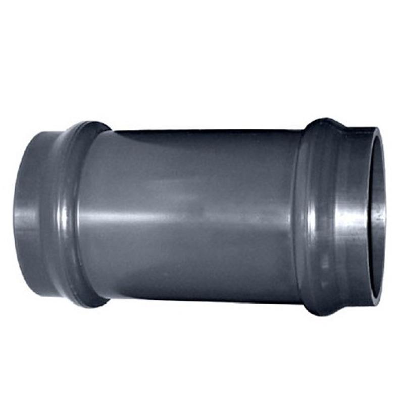 Manguito unión junta elástica PVC