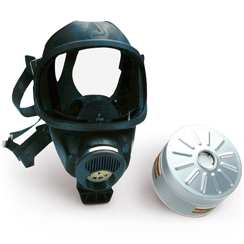 Máscara de seguridad cloro MSA Auer 3S
