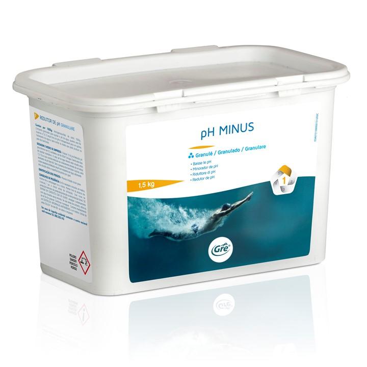 Minorador de pH granulado GRE