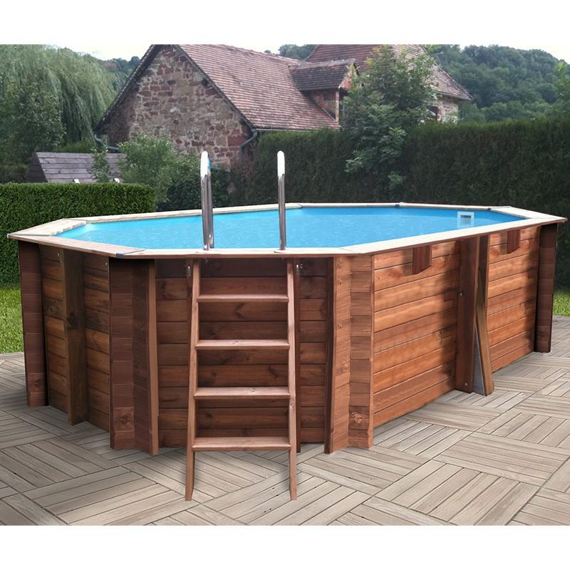 piscina de madera marca gre